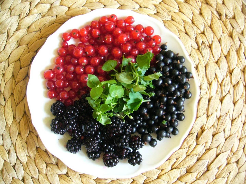 Beerenfrühstück