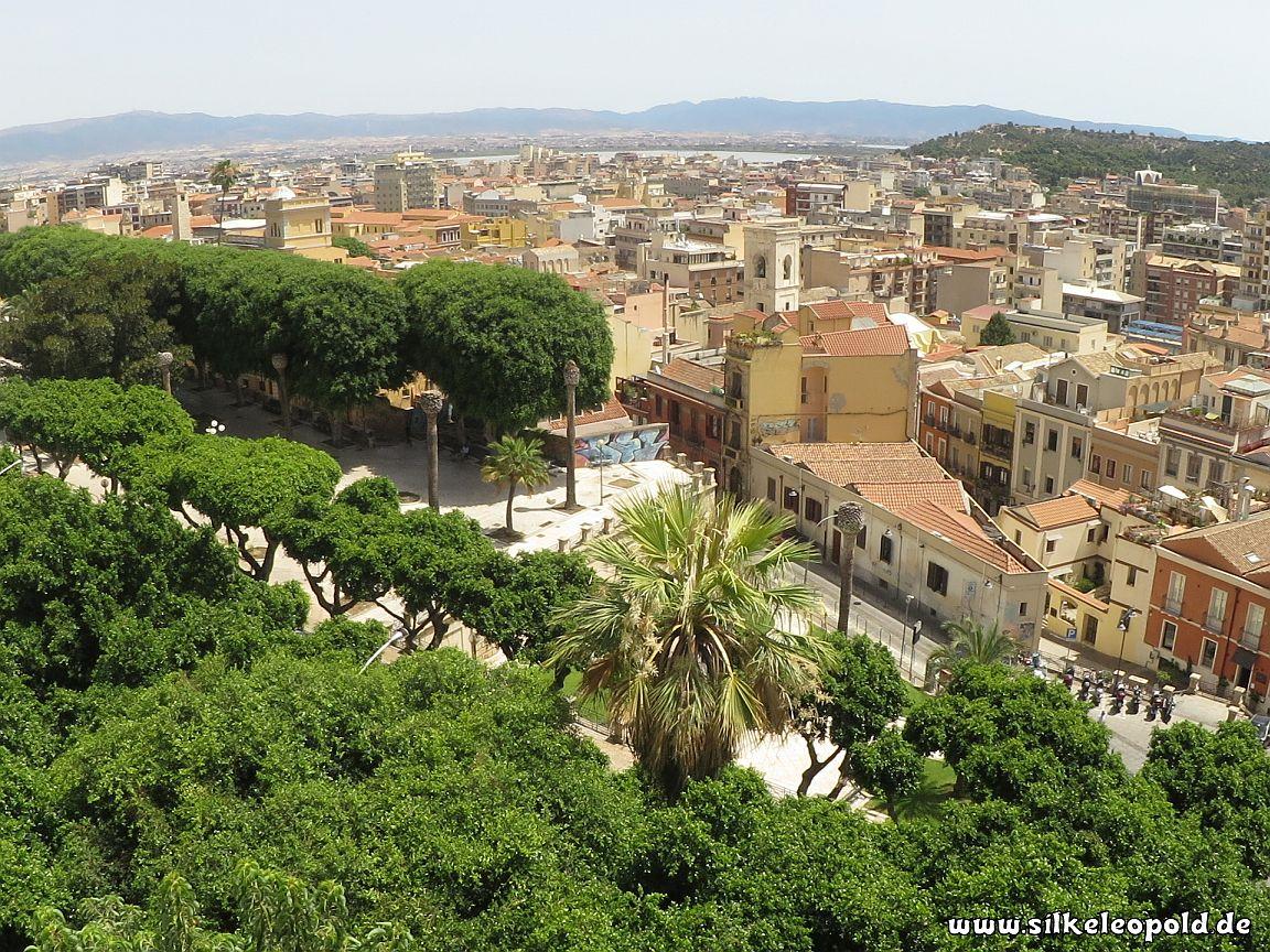 Cagliari und Meer - Sardinien