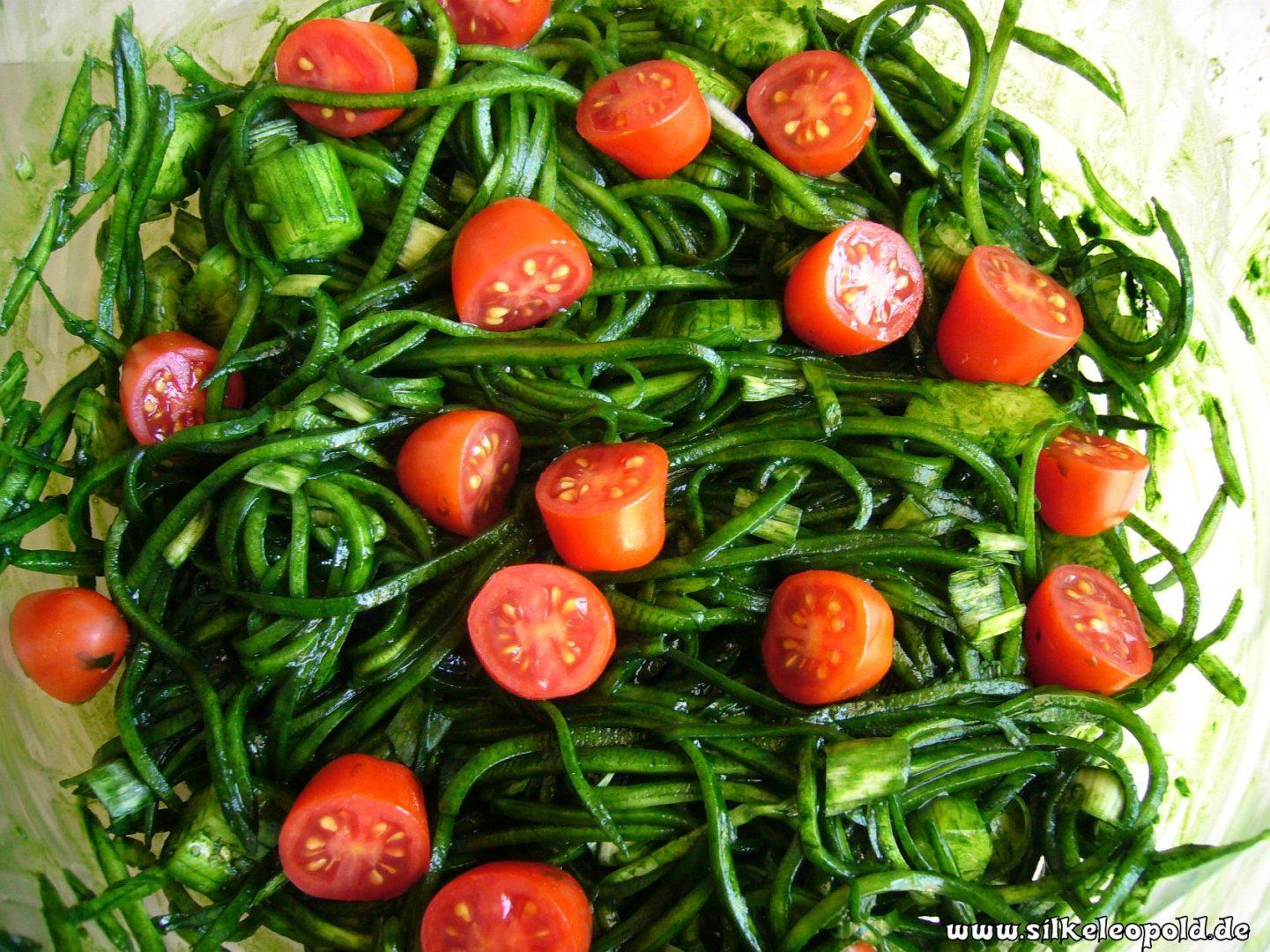 Chlorellaspaghetti