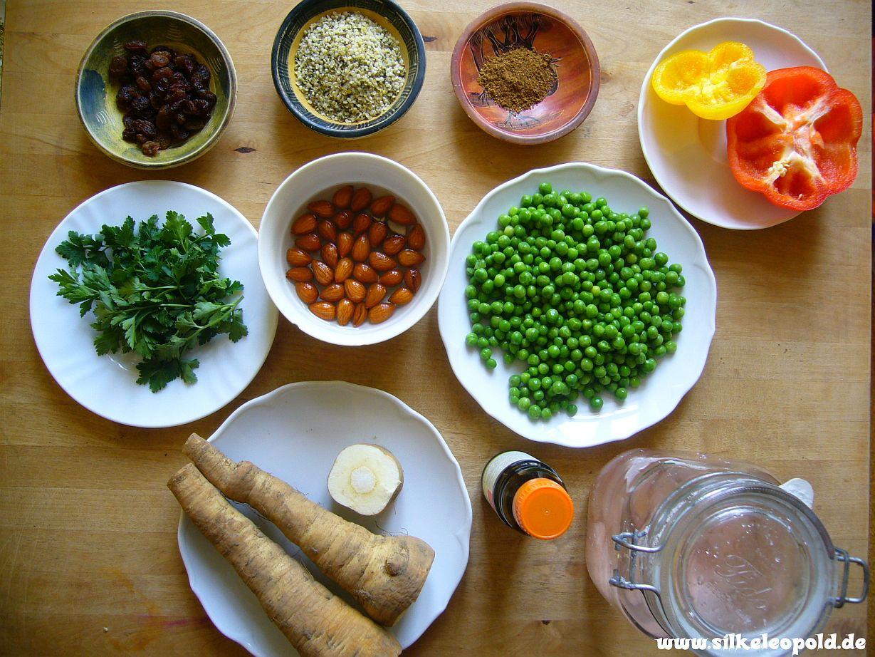 Couscoussalat - köstliche Rohkost