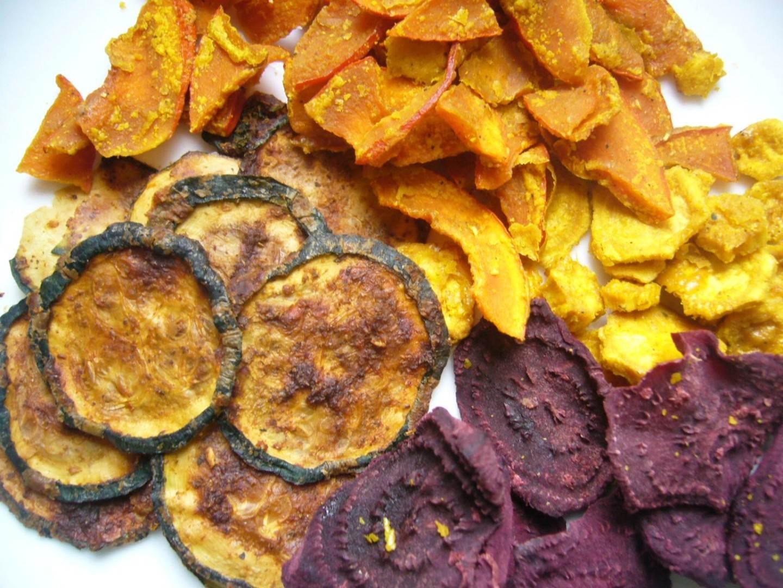Gesunde Chips dörren