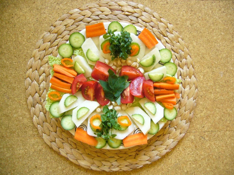 Gemüsemahlzeit