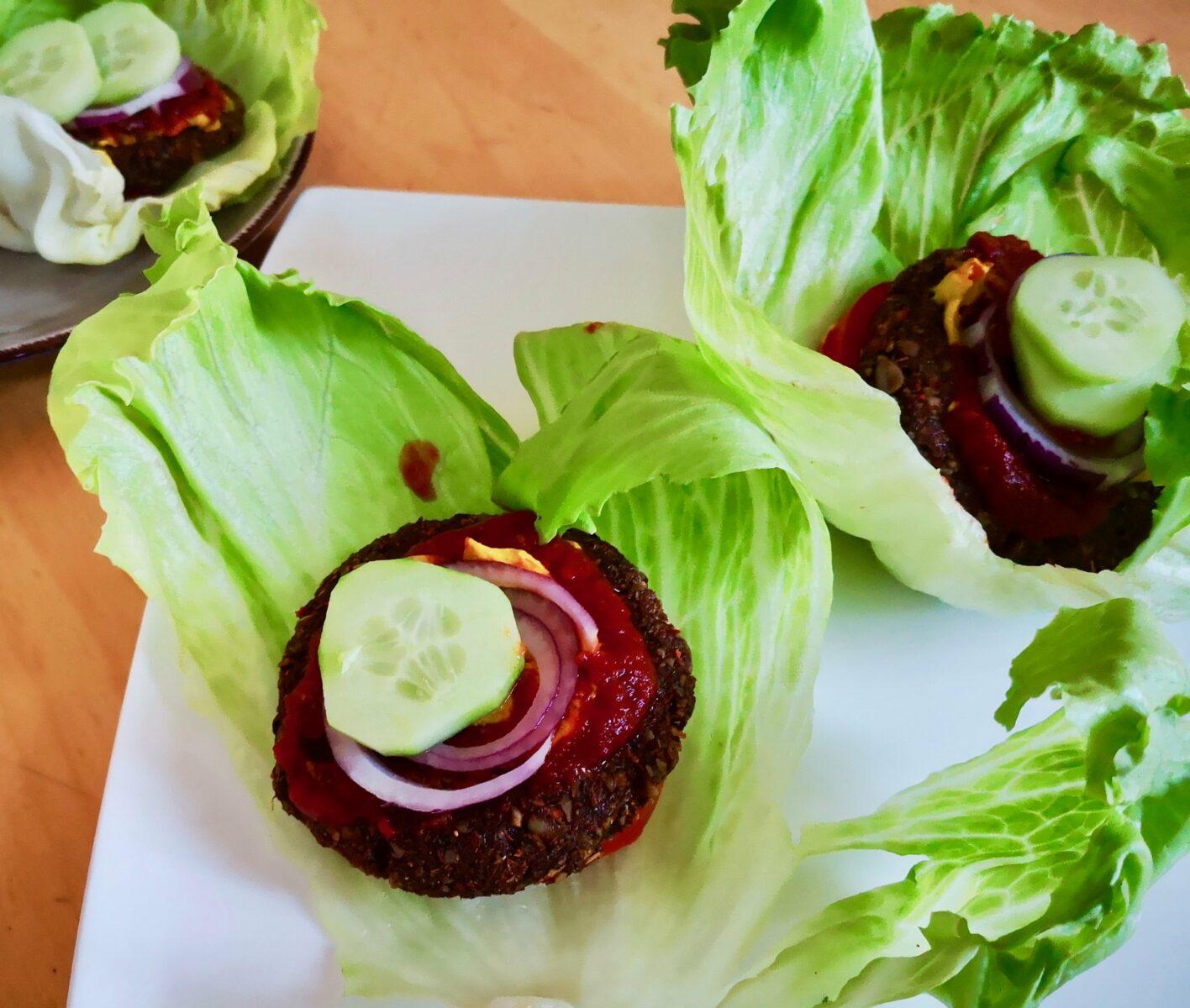 Fantastische vegane Burger Patties