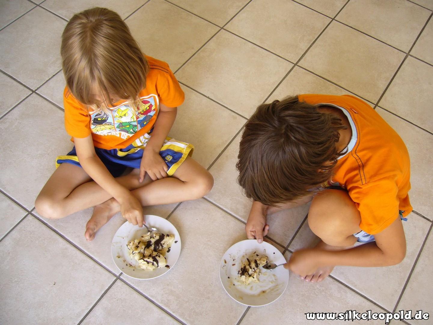 Jungs und Bananen- Carobeis