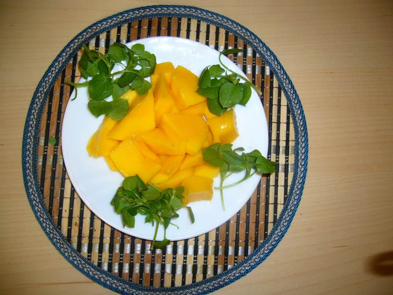 Mango mit Postilein