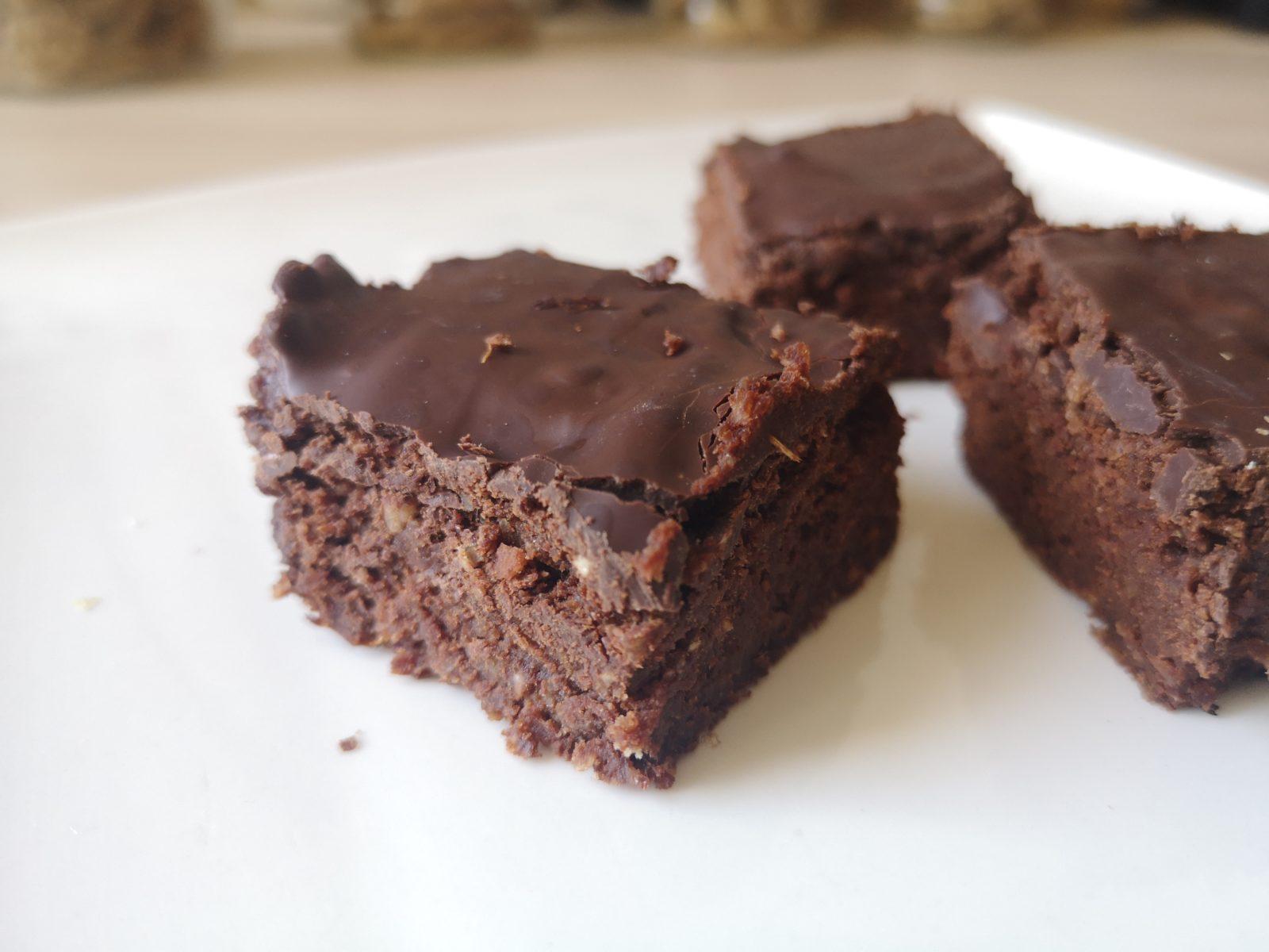 Vegane Brownies natürlich gesüsst!